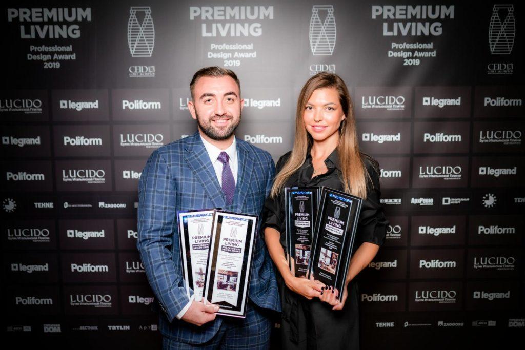Мария Василенко на премии PREMIUM LIVING Award 2019, в Москве